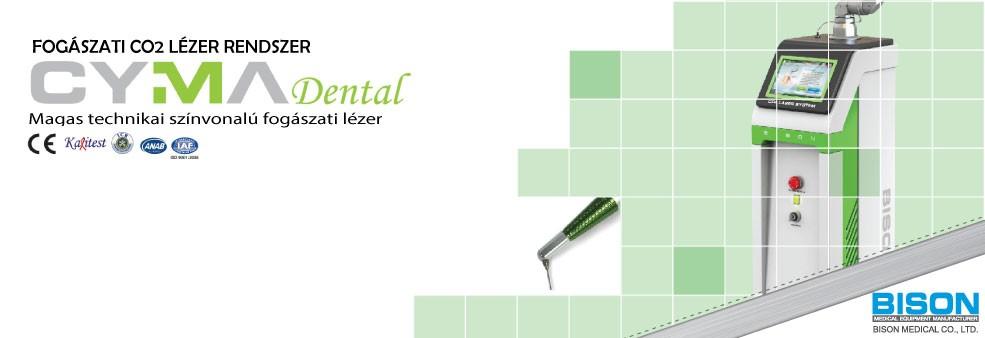 BISON Cyma Dental CO2 fogorvosi lézer