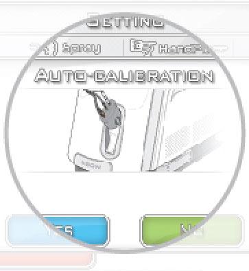 BISON Lucid LY ND: YAG lézer - Auto-kalibrációs rendszer