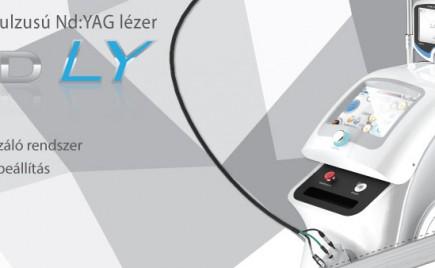 BISON Lucid LY 1064 nm hosszú impulzusú Nd:YAG lézer